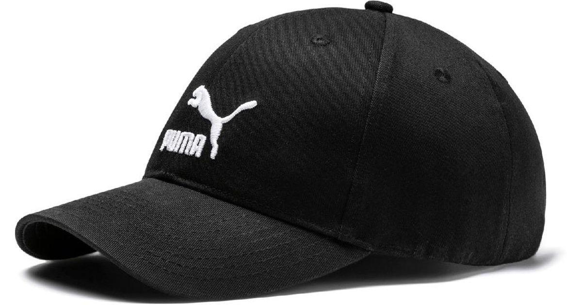 ff087a60e04 Lyst - PUMA Archive Logo Bb Cap in Black for Men