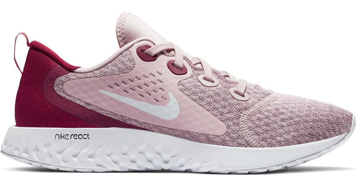 cheap for discount fe75e 106d5 Nike Legend React Running Shoes in Pink - Lyst