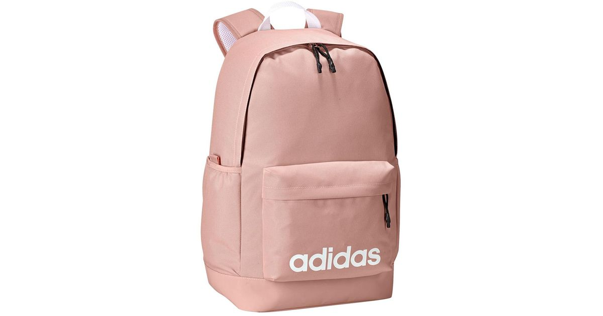 Lyst - Adidas Neo Daily Backpack in Pink a5835482d93b1