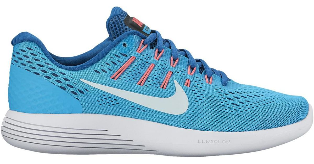 bc6f77d7924 Lyst - Nike Lunarglide 8 Running Shoes in Blue for Men