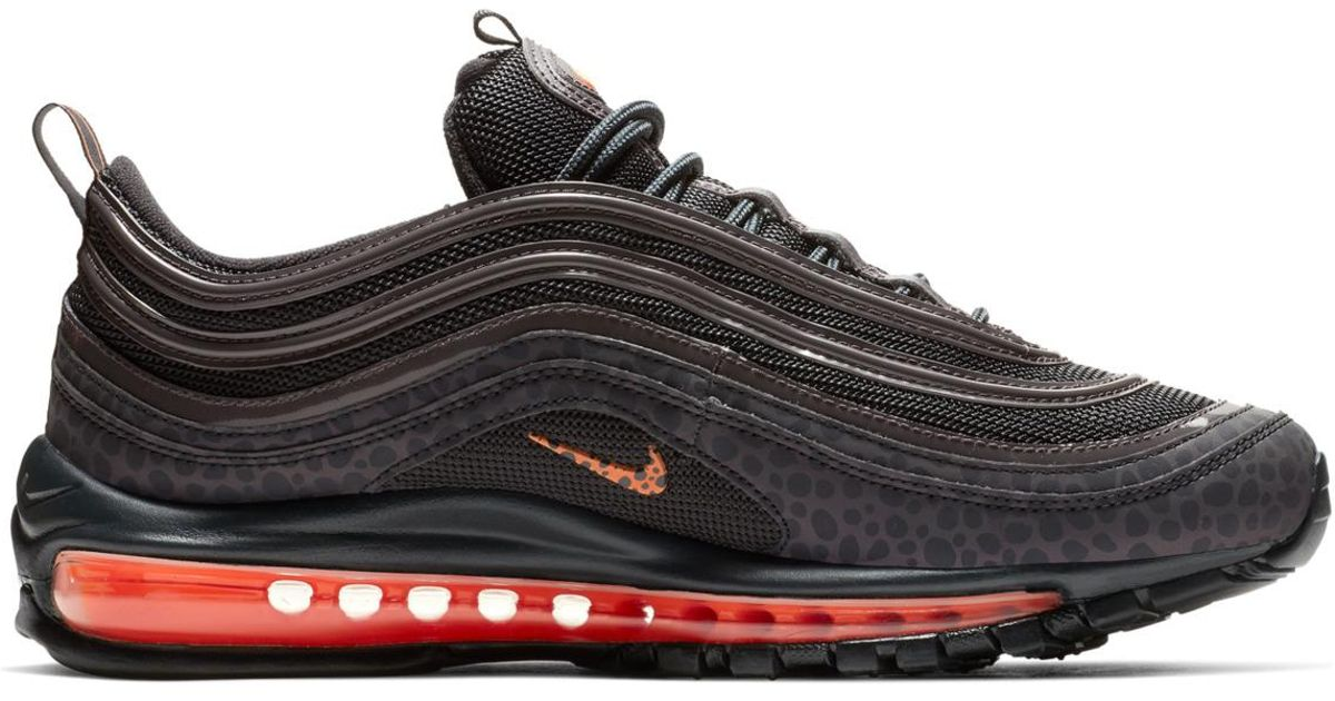 0e5b6c948a4 Lyst - Nike Air Max 97 Se Reflective Casual Trainers in Black for Men