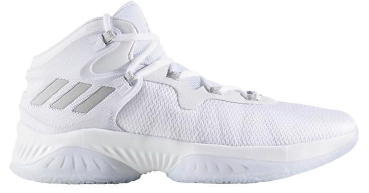 f40f042f5 Lyst - adidas Explosive Bounce Basketball Boots in White for Men