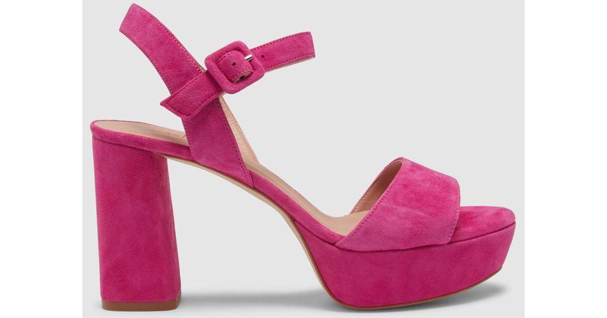 0d5530b7eb3 Lyst gloria ortiz pink high heel platform sandals in pink jpg 1200x630 High heel  platform sandals