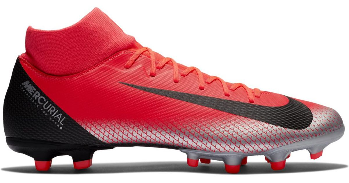 1e1b25c6528 Lyst - Nike Cr7 Superfly 6 Academy Mg Football Boots in Red for Men