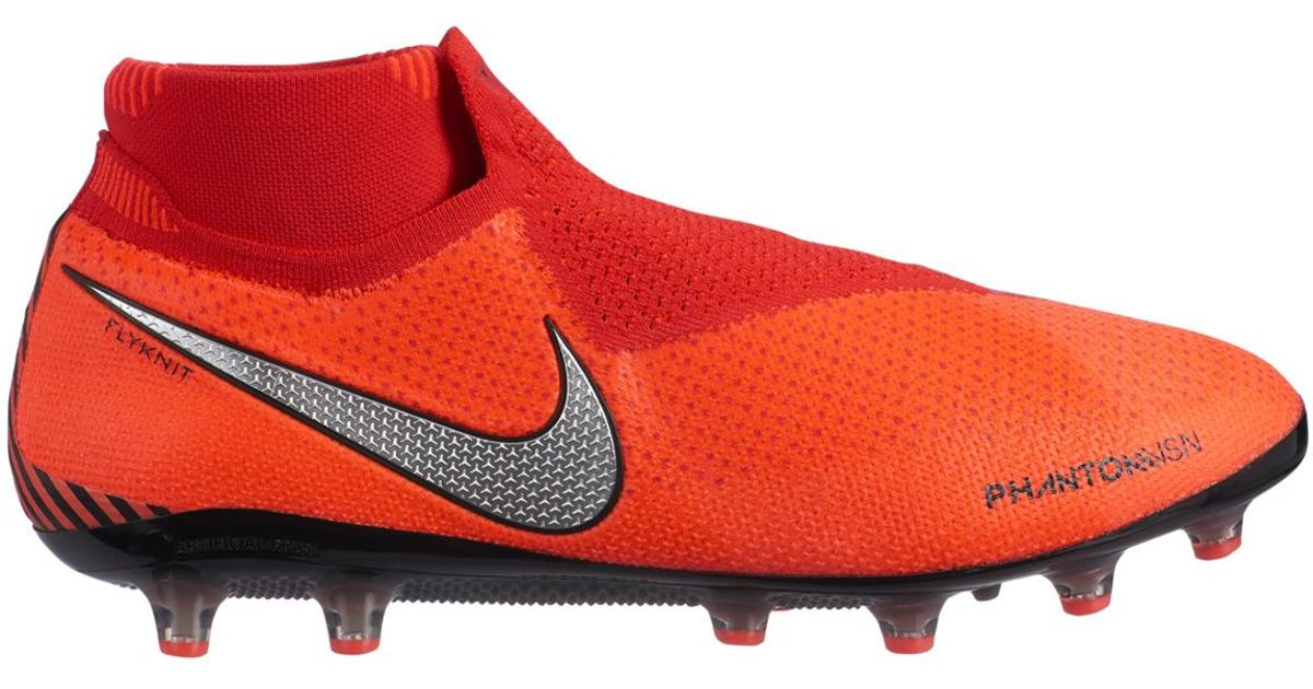 303d2d1be3d Nike Phantom Vsn Elite Df Ag-pro Football Boots in Orange for Men - Lyst