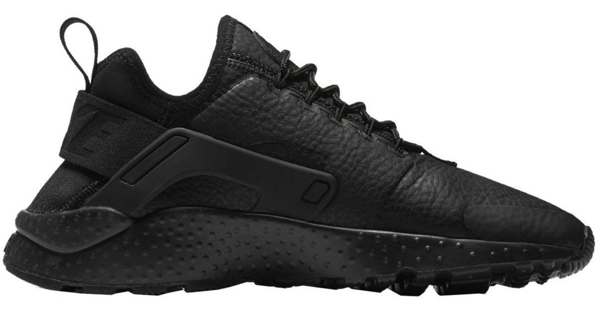 c1c69863bb04 Lyst - Nike Beautiful X Air Huarache Ultra Premium Casual Trainers in Black