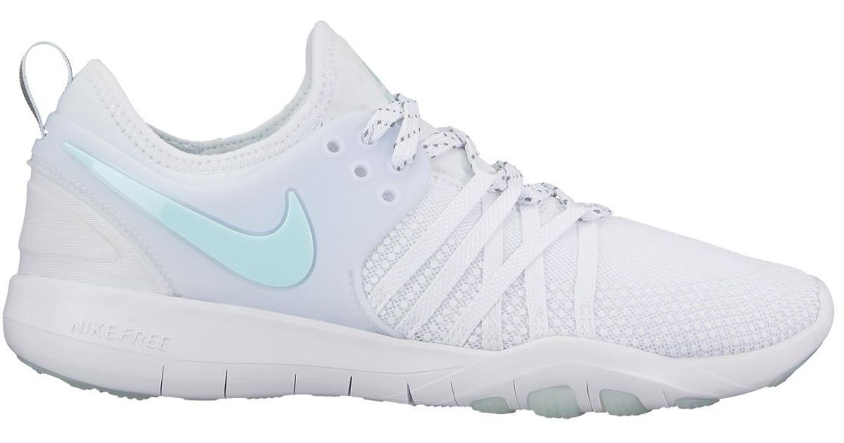 505e52c8b7478 Lyst - Nike Free Tr 7 Reflect Training Shoes in White