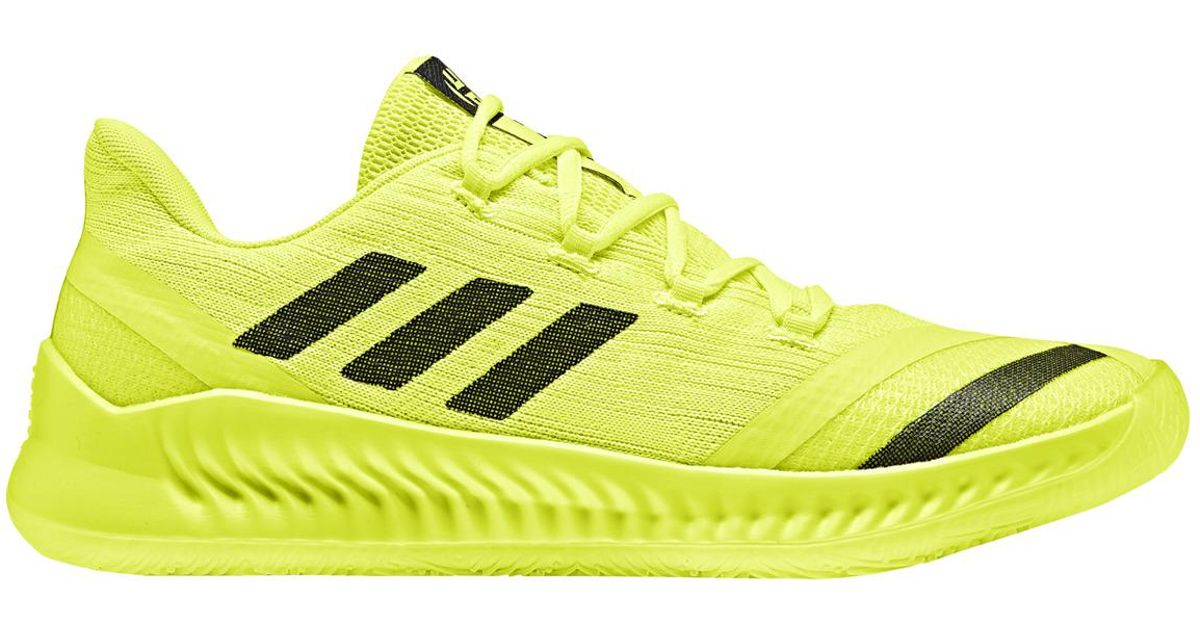 more photos b303a c91c1 Lyst - adidas Harden Be 2 Basketball Shoes in Yellow for Men