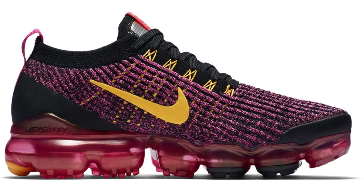 6bd091195e6 Lyst - Nike Air Vapormax Flyknit 3 Casual Trainers in Orange