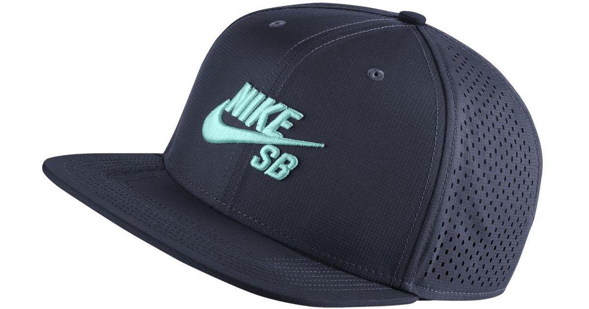 Lyst - Nike Sb Cap in Blue for Men 53d8178faf2