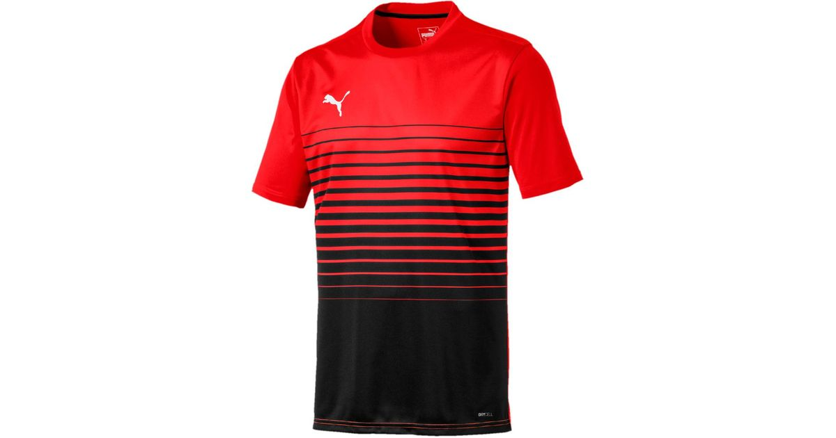 7b2cabcbc2a Puma Ftblplay Graphic T-shirt in Red for Men - Lyst