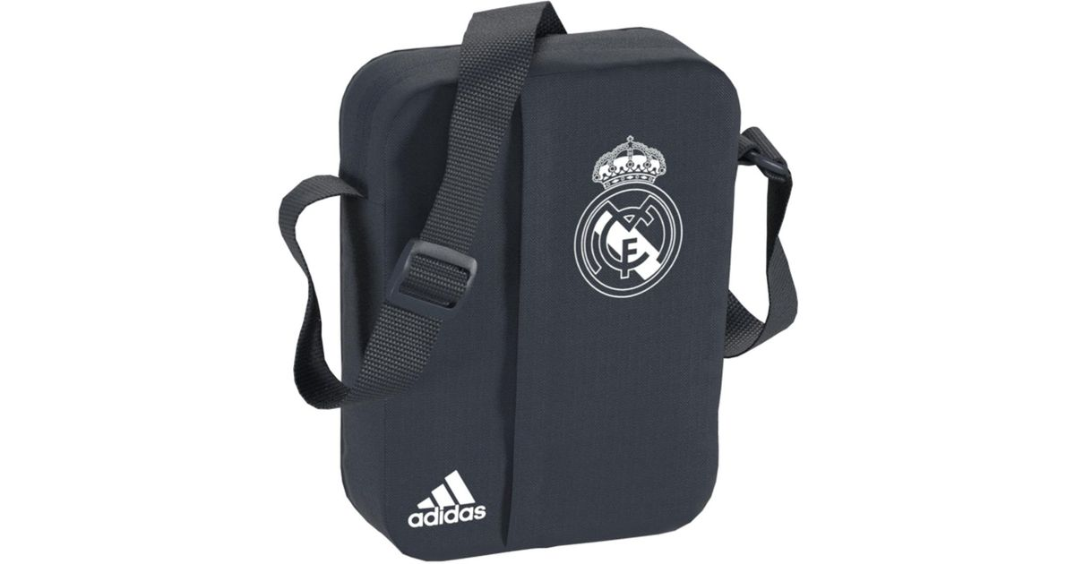 c3f7443aa67 adidas Real Madrid Cf 2018-2019 Sports Bag in Gray for Men - Lyst