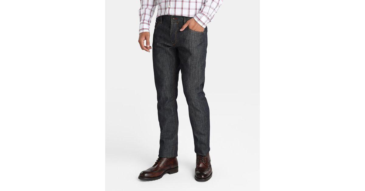 tommy hilfiger regular fit blue jeans in blue for men lyst. Black Bedroom Furniture Sets. Home Design Ideas