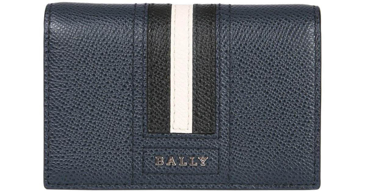 2a47060114 Bally Portafoglio Tyke In Pelle in Blue for Men - Lyst