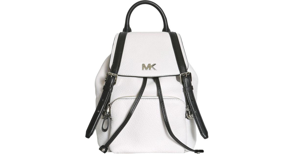b71eb918b062 order michael kors white leather backpack 40ca6 6d46c