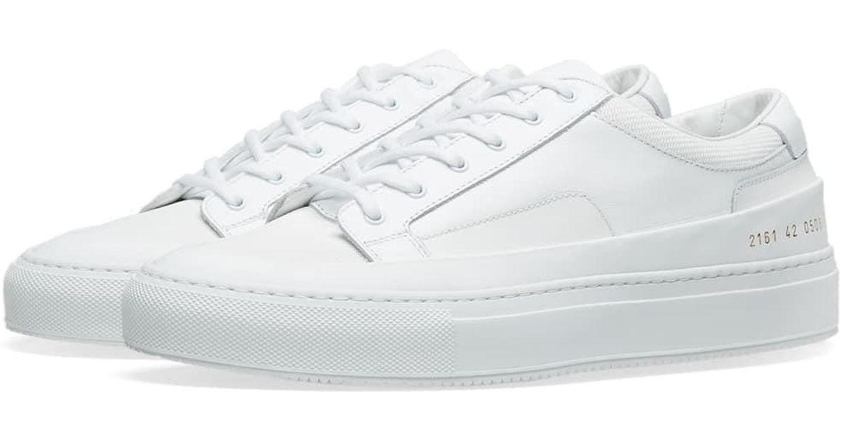8fa5cf216a2f4 Lyst - Common Projects Original Achilles Super Leather Trainers in White  for Men