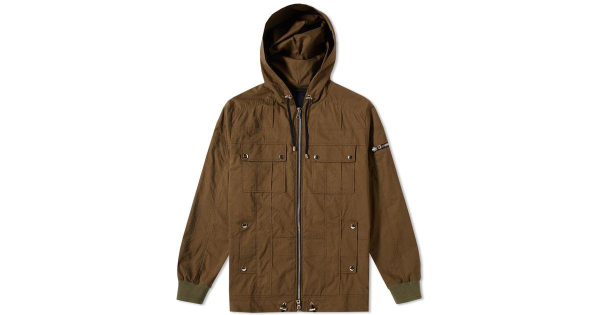 Balmain multi-pocket parka coat Shop Offer Cheap Price Cheap Pick A Best Sale Geniue Stockist Discount Sneakernews Cheap Get Authentic 4a1X0F8