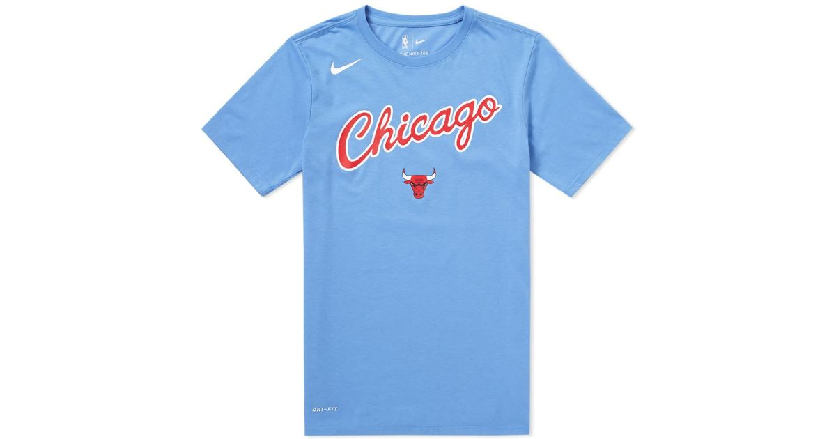 Lyst Edition For City Blue Tee Men Bulls In Chicago Nike rqwv4F7r