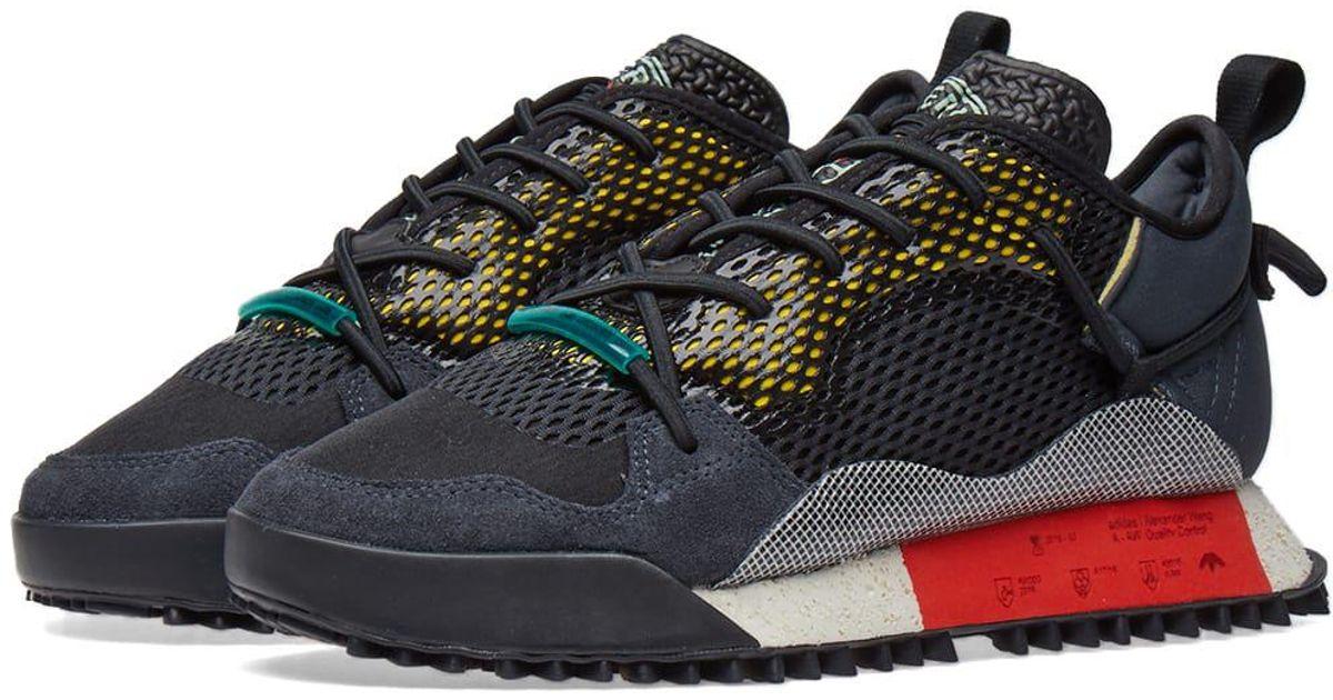 best website a35d8 a8770 Alexander Wang Adidas Originals By Alexander Wang Reissue Run in Black for  Men - Lyst