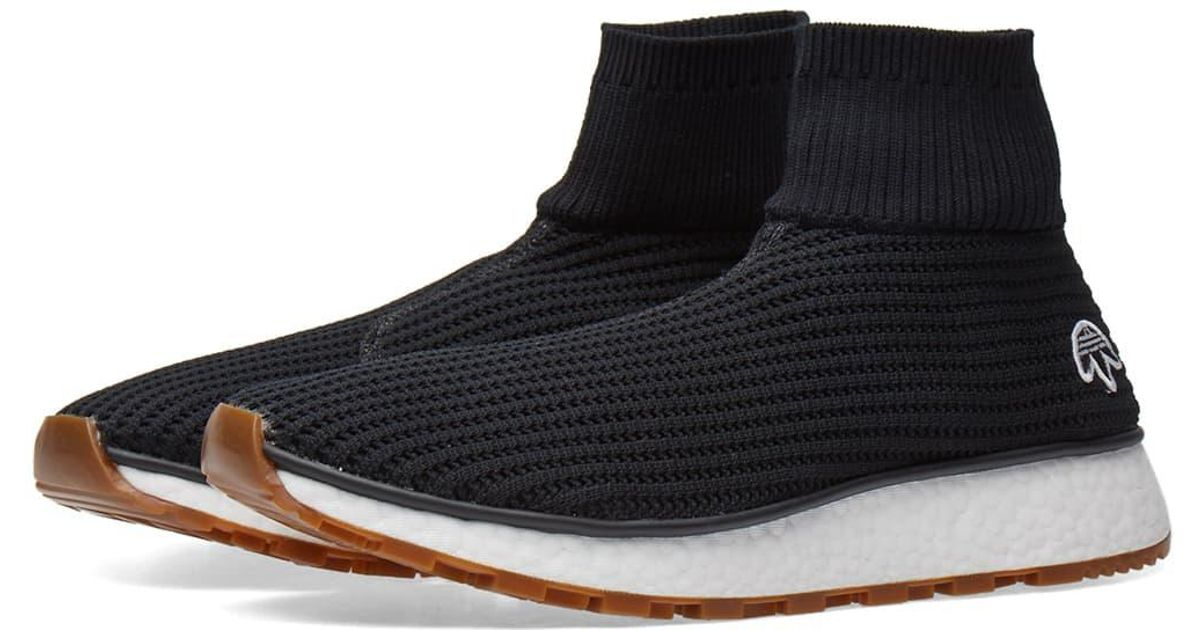 8ec077ee9409e Lyst - Alexander Wang Adidas Originals By Alexander Wang Run Clean in Black  for Men