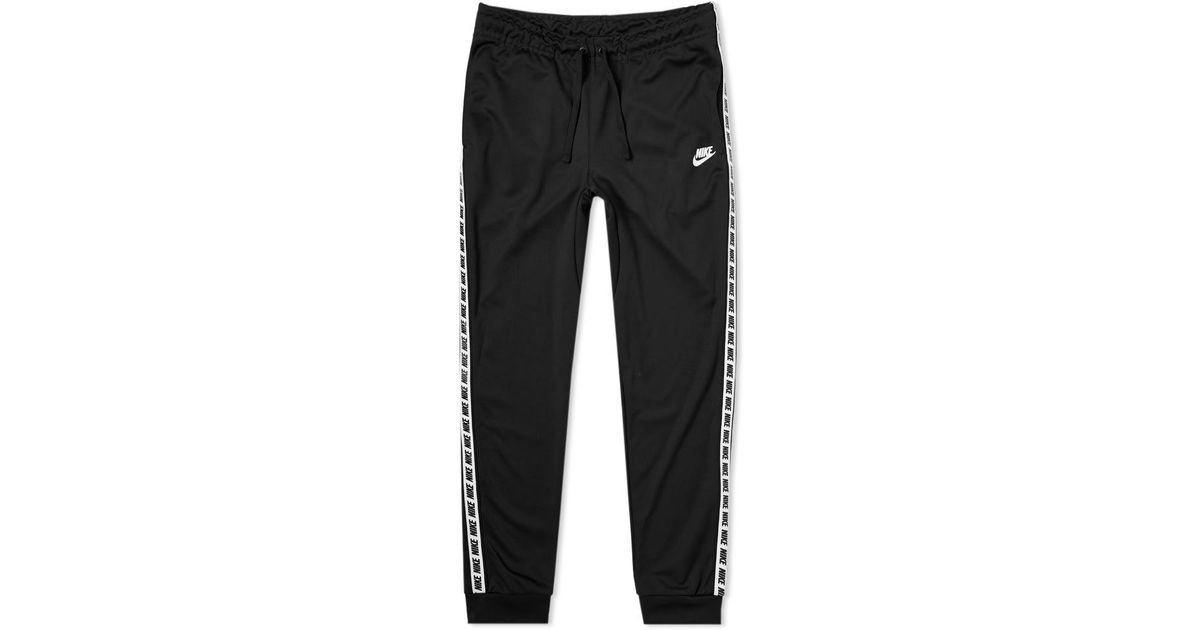 shades of find workmanship favorable price Nike Black Repeat Poly Sweat Pant for men