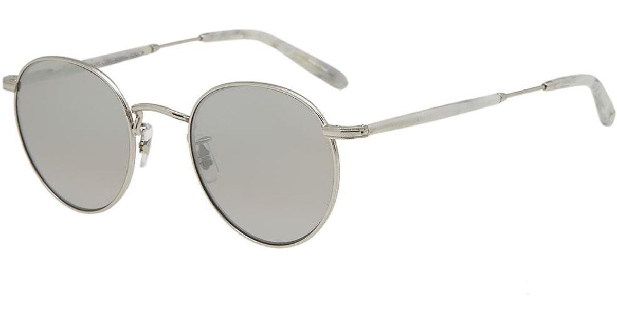 7344500f1ab Garrett Leight Wilson M Sunglasses in Gray for Men - Lyst