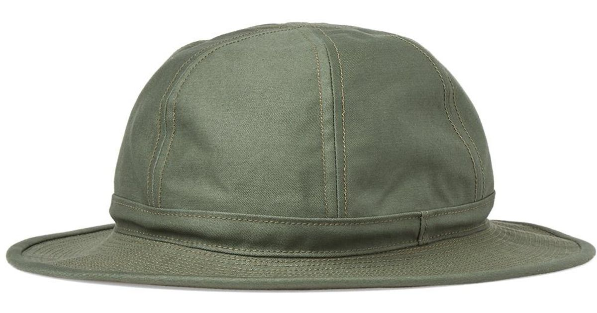 Lyst - Beams Plus Army Hat in Green for Men 2985077dfbe