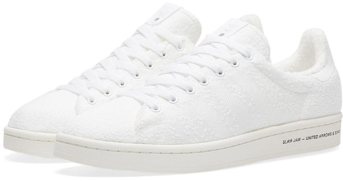 9e339bf946ec7 Lyst - adidas Originals X United Arrows   Sons X Slamjam Campus in White