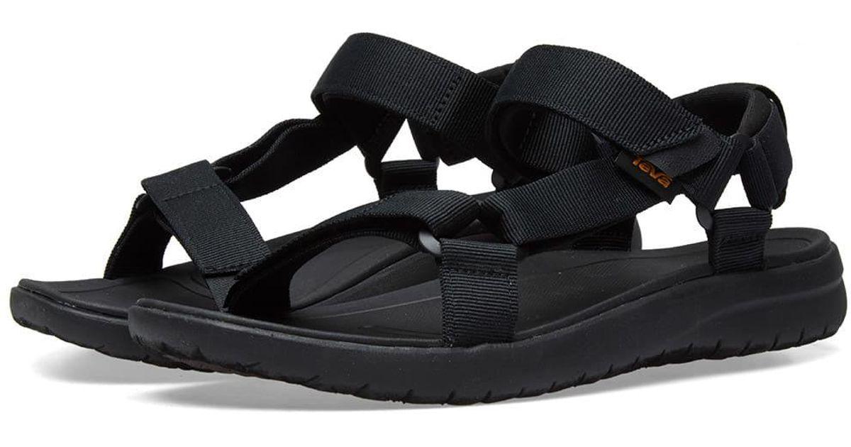 be4ffaa8855 Lyst - Teva Sanborn Universal Sandal in Black for Men