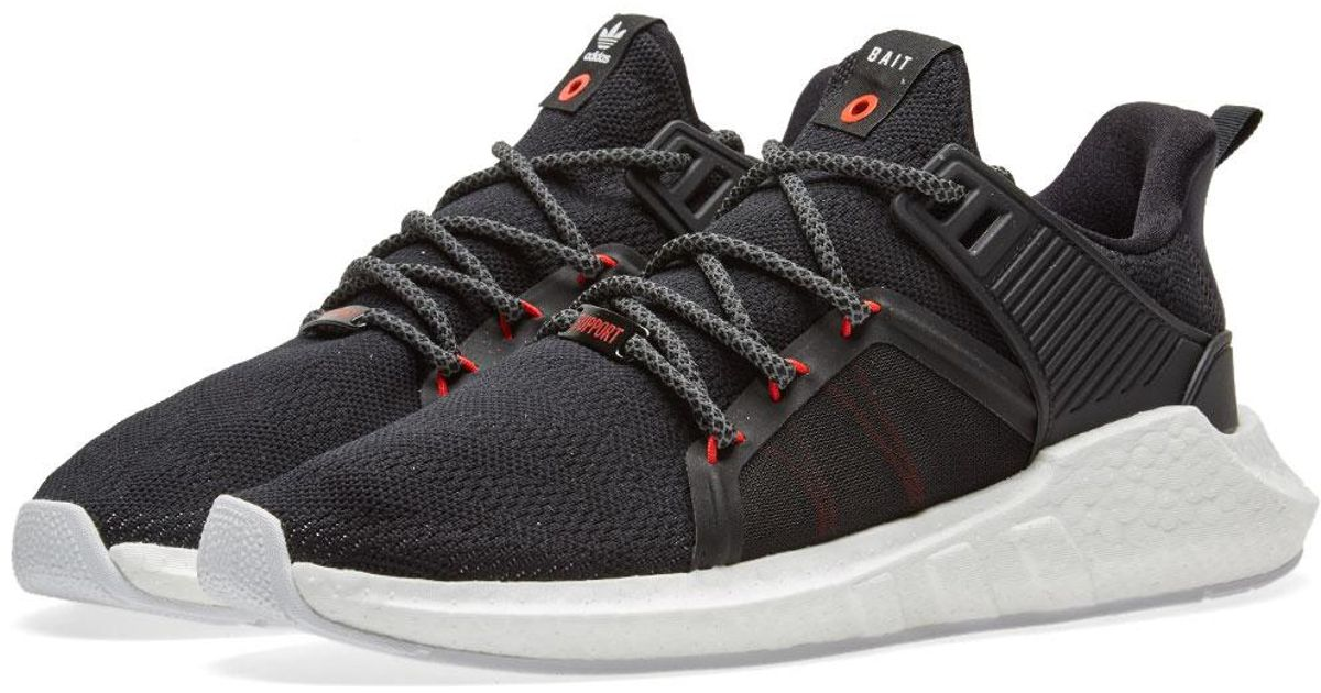 new style 2c471 bf3be Adidas Originals - Black X Bait Eqt Support Future for Men - Lyst
