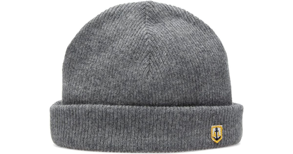2678137310c Armor Lux Heritage Plain Beanie in Gray for Men - Lyst