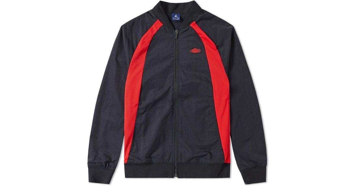 fe7b517367 Nike Nike Air Jordan 1 Wings Jacket in Black for Men - Lyst