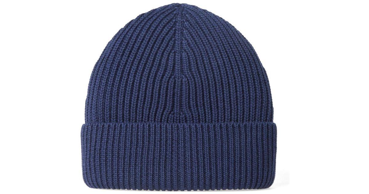 classic knitted beanie hat - Blue Maison Martin Margiela BD3SPC