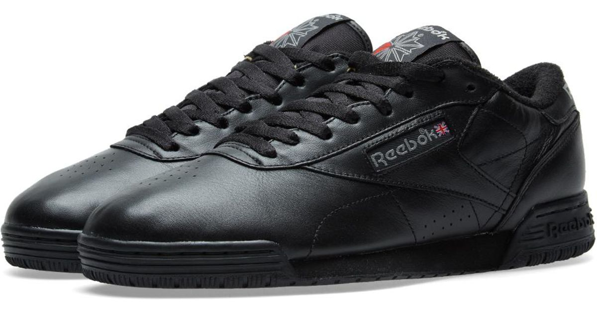 df1e24d32db Reebok Exofit Low Clean Vintage in Black for Men - Lyst