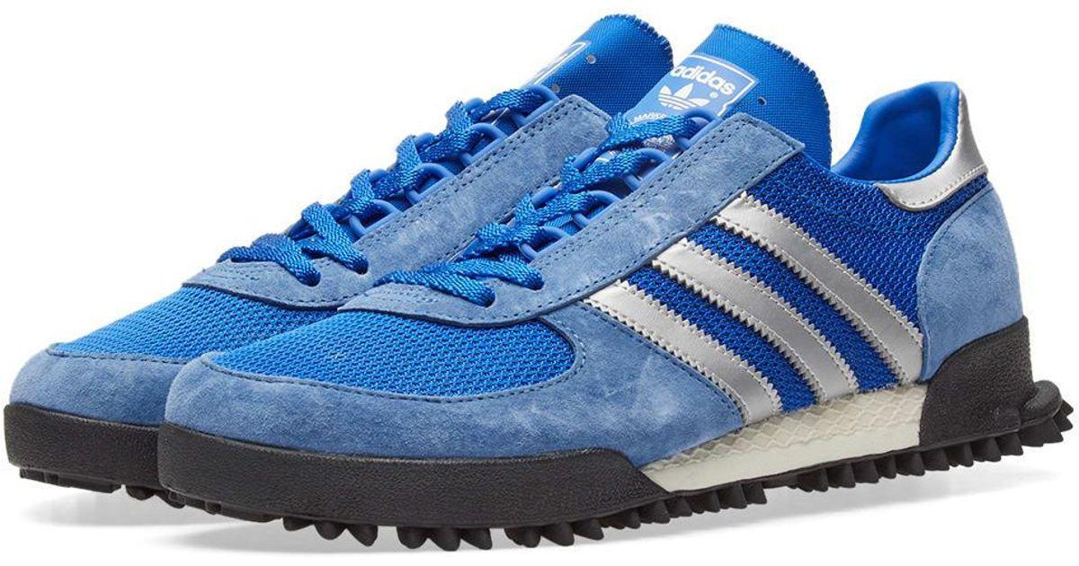 Adidas maratona tr og in blu per salvare il 34% lyst