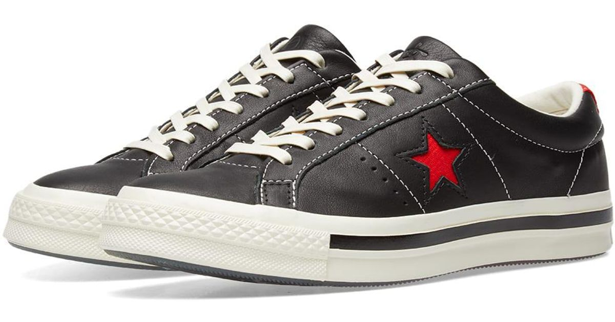 5bcaf854bb84 Lyst - Converse X Kasina One Star Ox in Black for Men