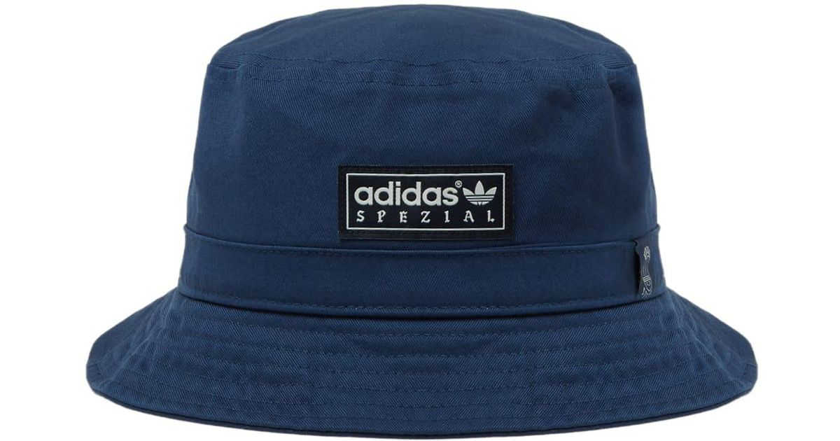 097cd0aeec7 adidas Originals Adidas Spezial By Union La Bucket Hat in Blue for Men -  Lyst