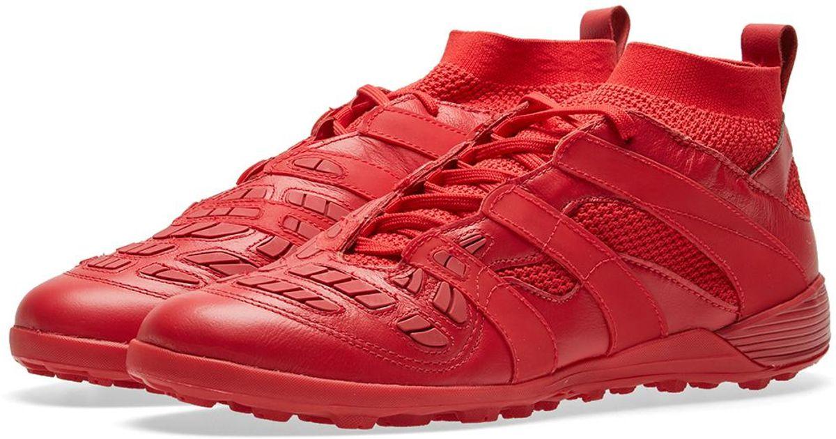 048d5e2479f1 adidas Originals X David Beckham Db Accelerator Tf in Red for Men - Lyst