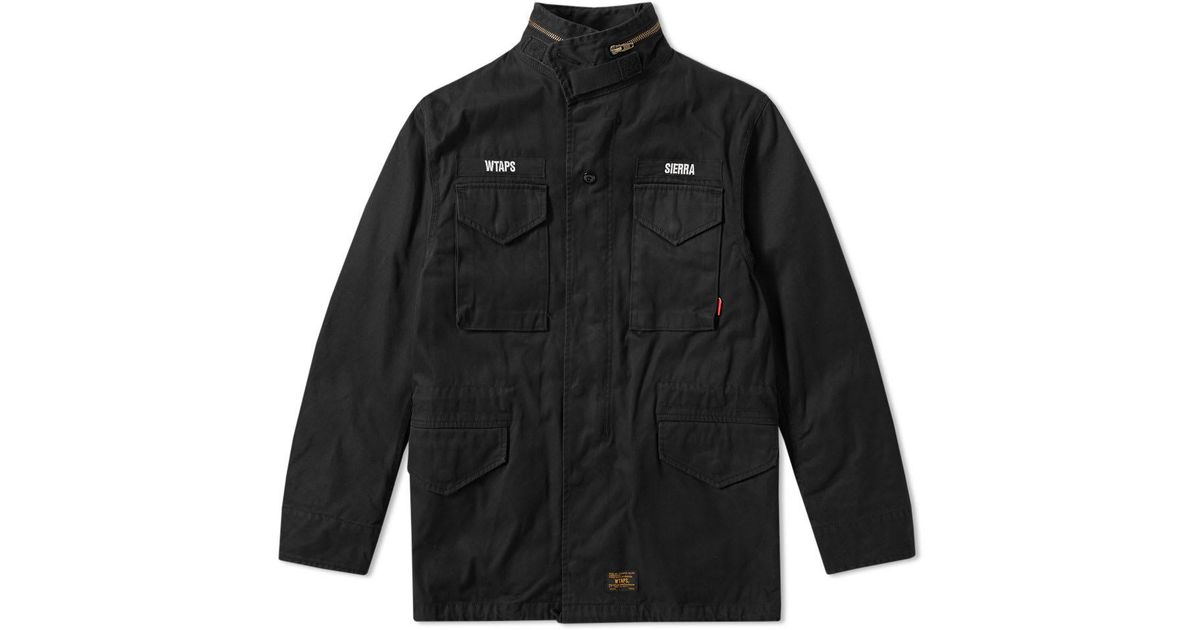 2e3b0944d2a79 WTAPS M-65 Jacket in Black for Men - Lyst