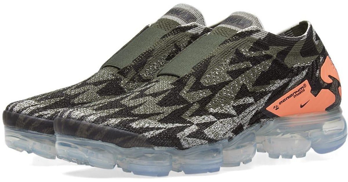 best sneakers 06352 2b8f0 Lyst - Nike X Acronym Air Vapormax Flyknit Moc 2 in Green fo