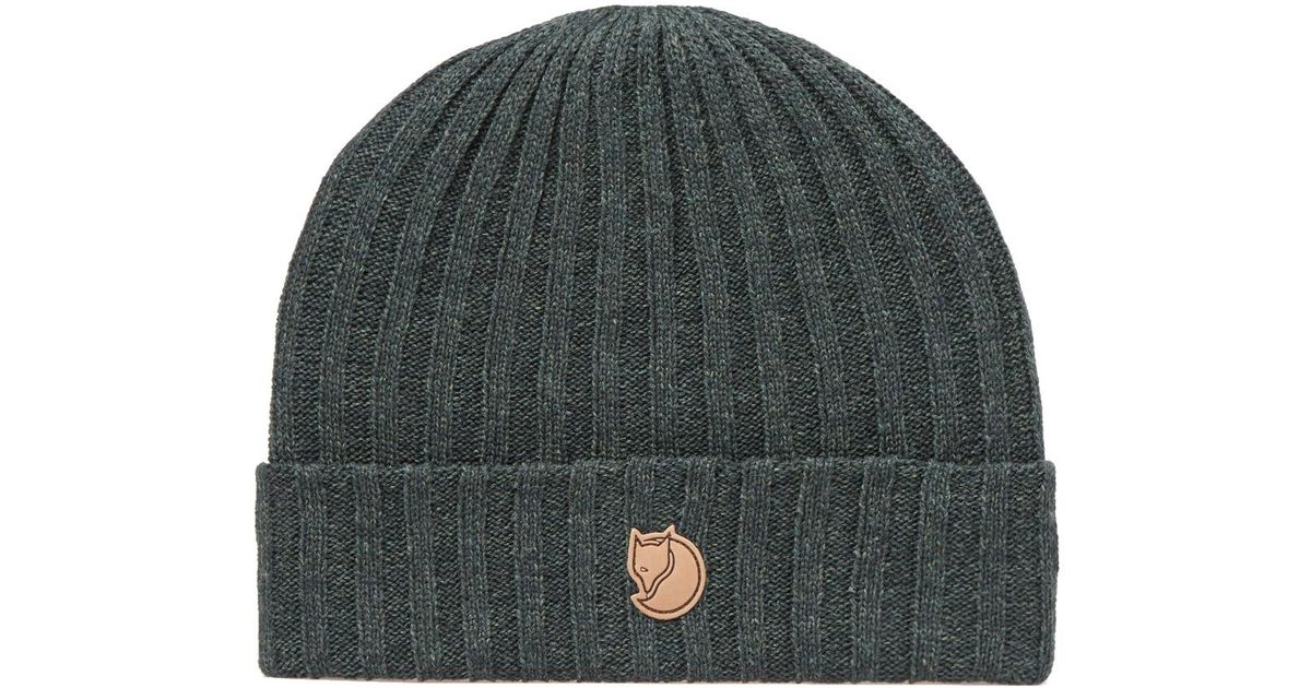 Fjallraven Byron Beanie Hat in Green for Men - Lyst e12a2f6cb93e