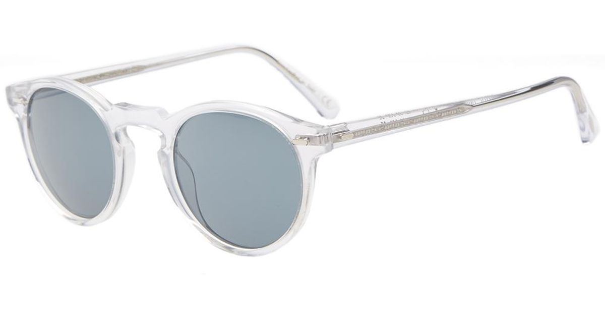 1ffa60f2e8 Lyst - Oliver Peoples Gregory Peck Sunglasses for Men - Save 3%