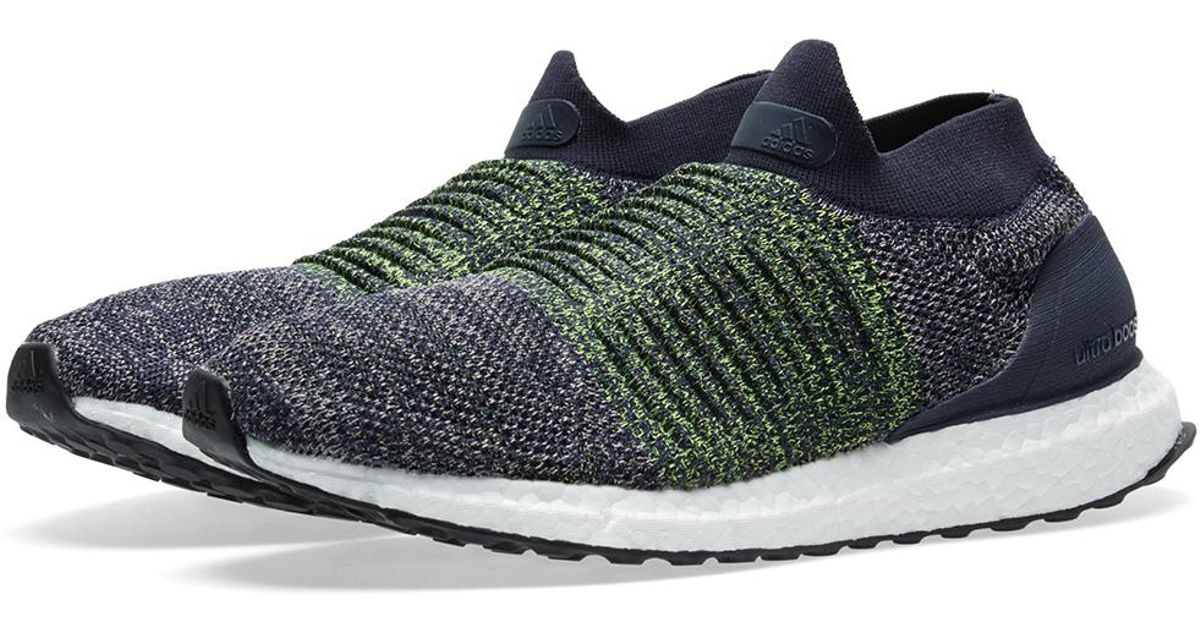 16c7823ebc5 Adidas Originals Ultraboost Laceless in Gray for Men - Lyst