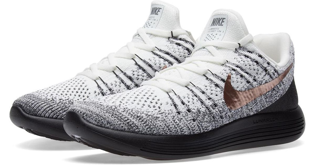 bb068d61a764 Lyst - Nike Lunarepic Low Flyknit 2 X-plore in White for Men