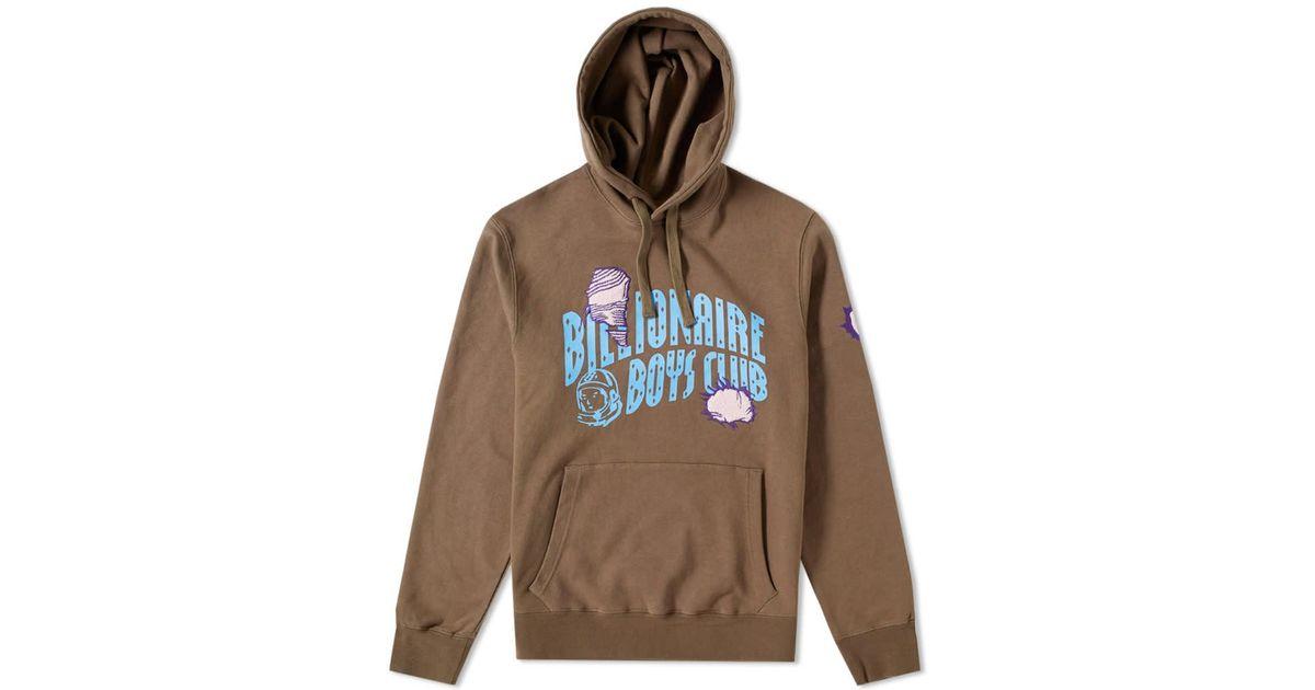 fe4e98db72be Lyst - Bbcicecream Damaged Logo Popover Hoody in Brown for Men