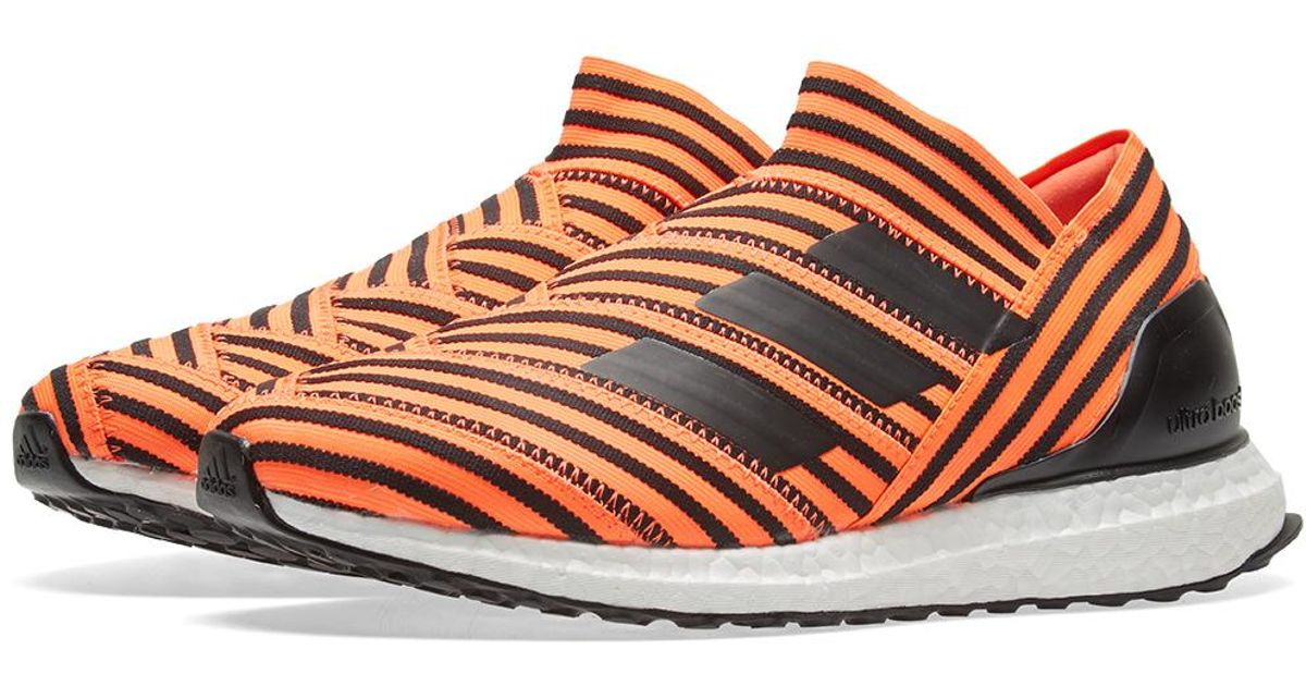 49167a018ff3 adidas Originals Nemeziz Tango 17+ 360 Agility Ultra Boost 'solar Orange'  in Orange for Men - Lyst