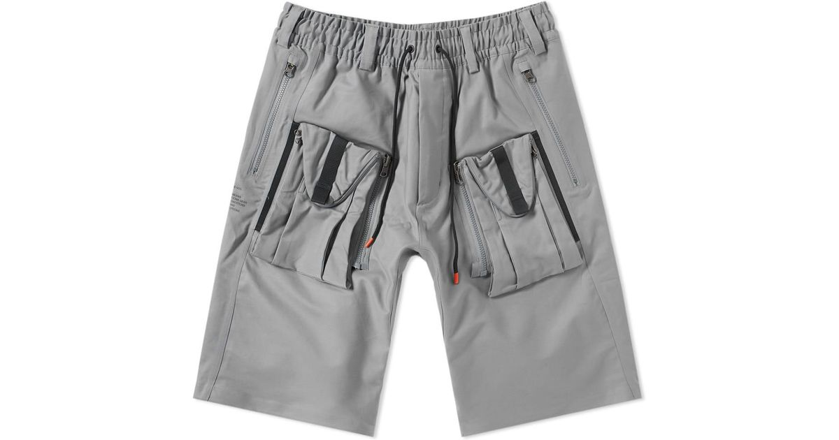 2ce67ef6a3 Nike Acg Deploy Cargo Short in Gray for Men - Lyst