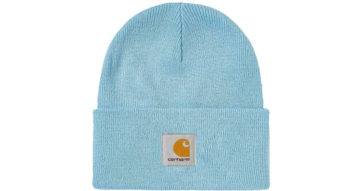Lyst - Carhartt WIP Carhartt Watch Hat in Blue for Men 975ddb87437