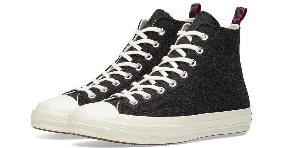 0e191b5b50a Lyst - Converse Chuck Taylor  70 Felt Pack Hi in Gray for Men