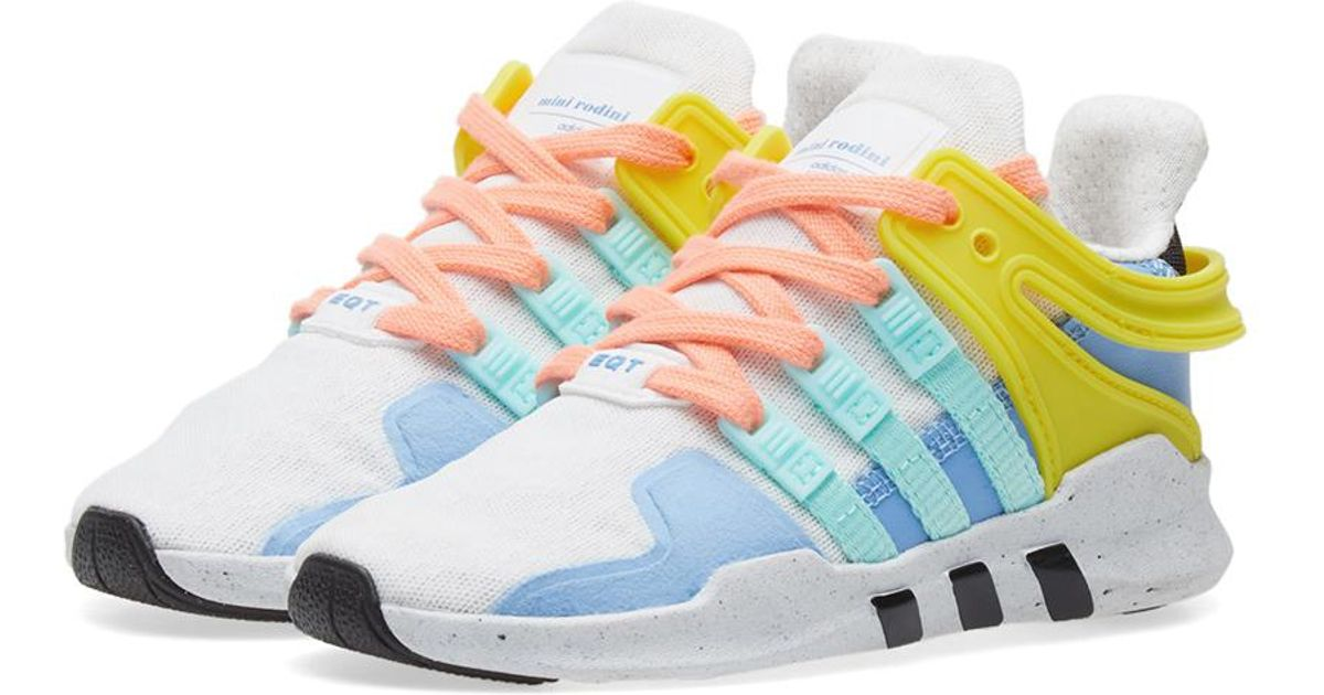 new products d01a4 1c087 adidas Equiptment Support Adv Mini Rodini Sneakers in White for Men - Lyst